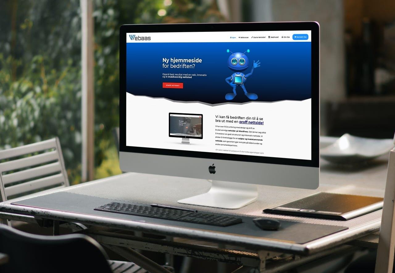 utvikle hjemmeside konkurranse