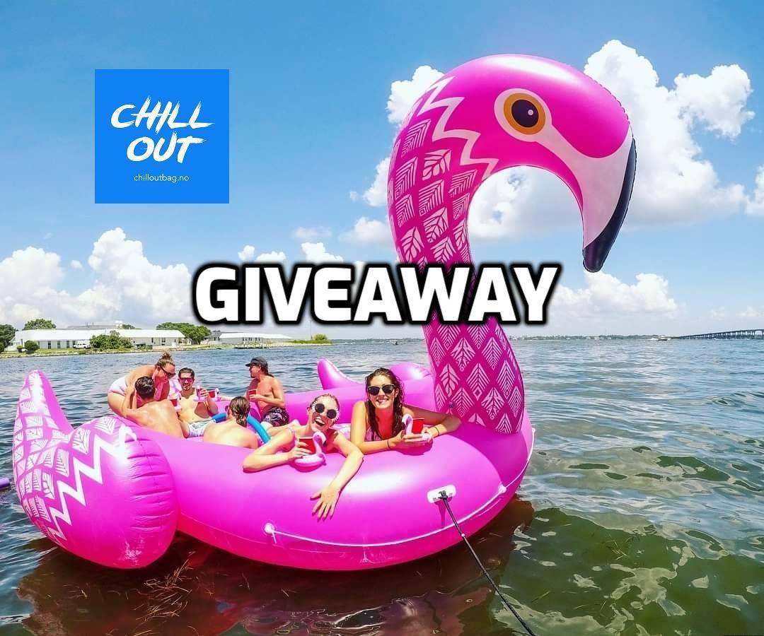 gigantisk flamingo giveaway